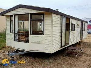 Fachada de la Mobil Home Summerlodge de 2 habitaciones