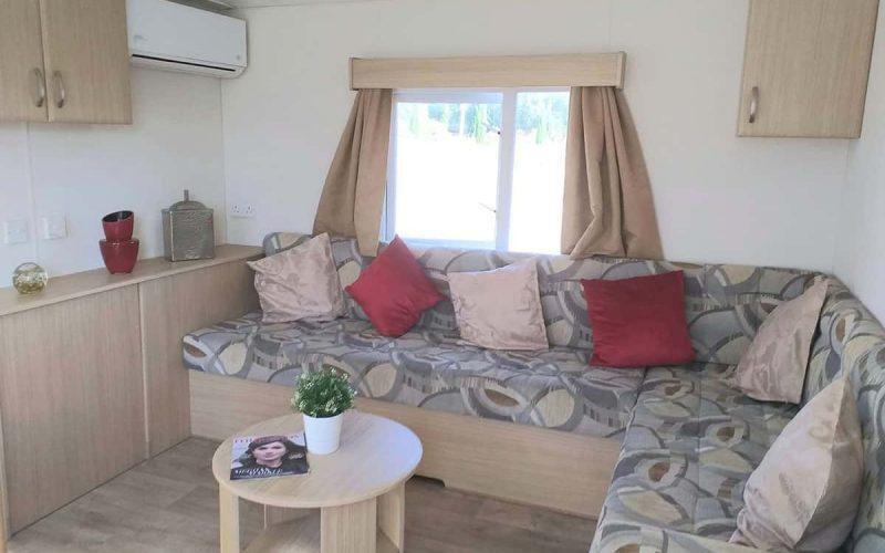 Sala de estar del modelo Delta Tempo